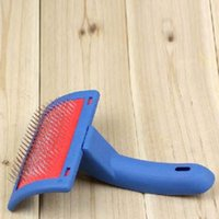 best dog grooming brush - Best Price Dog Pet Cat Hair Flea Shedding Grooming Comb Puppy Slicker Brush Comb Tool