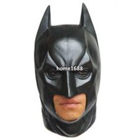 Wholesale Latex Scary mask Costume Halloween Deluxe Batman Party masks