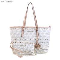Wholesale Fashion Hot selling brand Tote Lock Purse College Wind backpack Bag Women s MK Handbag qeqad