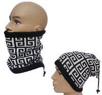 Moda caliente al aire libre de cuello de calentador otoño de invierno multifunción sombrero bufanda Unisex impreso bufandas cálidas de escalada de esquí de desgaste Cap mejores regalos K1049