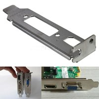 Wholesale Low Profile Bracket Adapter HDMI DVI Port For Half Height Graphics Video Cards