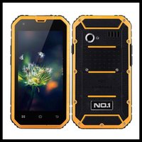 Wholesale Android Lollipop NO M2 Rugged Proof IP68 Waterproof Quad Core MTK6582 GHz GB GB G WCDMA Dual Sim Card MP Camera Smartphone