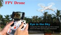 Wholesale Newest X6sw WIFI Fpv Toys Camera rc helicopter drone quadcopter gopro professional drones with camera HD VS Drone