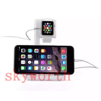 Wholesale Magnetic Charger Stand Holder Dock Bracket Docking Charge Station for iphone ipad and Apple Watch iwatch mm mm