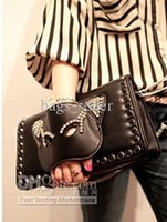 Wholesale Cheap Satchel Bags Women Shoulder Clutch Bag Cat Mask Black Colors B7