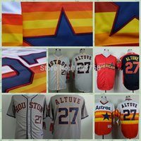 jersey shop - 2016 New Jose Altuve Jersey nEW sHop rainbow Vintage grey white all star Jose Altuve baseball jersey
