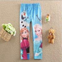 Cheap Frozen Pants Best Children Leggings