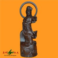 africa cities - Kerry Redwood City South Africa ebony statue of Bodhisattva no gift ornaments home accessories collections