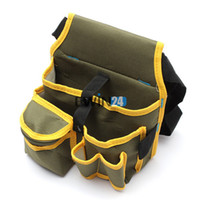 Wholesale Durable Oxford Maintenance Electrician Tool Bags carrier Heavy duty Utility toolkit Pocket Pouch Work Waist Bag