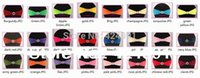 Wholesale 150pcs Lycra Chair Bands Sash with Oval buckle Double Layer Lycra Bands Sash for Weddings Events Decoration