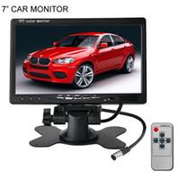 audi tv - 7 inch TFT LCD Digital Color Car Monitor For Car Rear View Parking Backup Camera DVD VCR