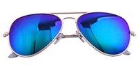 Wholesale 2016 New Flash Mirror Sunglasses Summer Sunglasses Men Women Optic Polarized sunglasses Authentic Sunglasses Original Leather Box