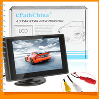 Wholesale Digital color TFT LCD car rearview monitor inch Foldable Car LCD TFT Rearview Monitor Screen