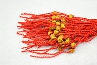 Cheap Chinese folk style red rope BRACELET make fortune style Bracelets wrist jewelry Lucky women Bangles wrist Bracelet