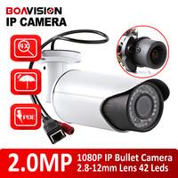 Infrared auto iris camera - 1080P POE Bullet IP Camera Waterproof Outdoor CCTV Camera MP PC Mobile View Built in POE Onvif P2P Cloud Auto Iris mm VariFocal Lens