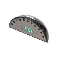Wholesale high qualityAlarm Clock Camera Mini DV Clock Camera hidden wifi wall clock camera with memory card wifi table clock camera