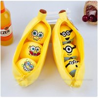 banana giant - NEW Creative Giant cm Despicable Me Minion sponge bob banana pea toys dolls stuffed cute pendant pillow cushion new year gift