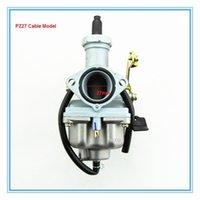 Wholesale PZ27 Cable Carburetor for stroke cc ATV Quads etc CARBURATEUR Good quality parts factory