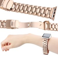 Wholesale For apple watch link bracelet mm stainless steel watch band for apple watch sport Strap converter