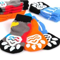 Wholesale New Arrivals Autumn and Winter Warm Cat Vest Soft Comfortable Cotton Pet Socks Slip Floor Socks pc Pet Supplies