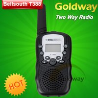 Wholesale High Quality Two Way Radios Walkie Talkie Bellsouth T388 Mini Travel W Auto Multi Channels