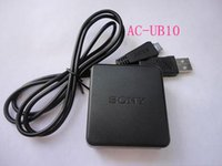 Wholesale Authentic Cameras Charger AC UB10 Power Adapter black charger data cable