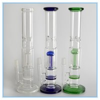 Glass assorted trees - 2016 Glass Water Smoking Pipe Percolator Pipes Honeycomb Disk Bong With Arm Tree Perc Vase quot quot Height Colors Assorted YS B14
