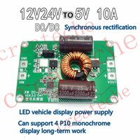 Wholesale 12V V to V A power converter DC DC vehicle DC voltage reducing module car display screen power conversion board W bare board OEM
