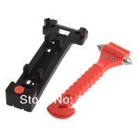 Wholesale Car Auto Window Breaker Emergency Hammer Belt Cutter Bus Safe Escape Tool Kit Hot Selling new