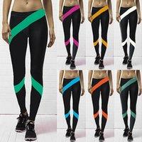 Wholesale Unisex elastic skinny pants fashion yoga pants sport leggings trousers for girls boys