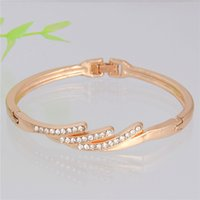 best romantic dates - Best Fashion Bracelet For Girl Romantic Design Golden Cuff Bracelet Perfect Bracelet For Girl s Dating