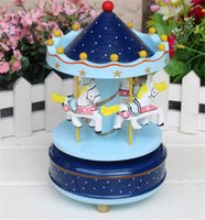 Wholesale 100pcs Carousel Music Box For Kids Wedding Gift Toy