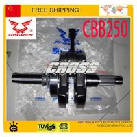 balancing crank - ZS150 C MOTORCYCLE ATV QUAD dirt pit bike ZONGSHEN CBB250 CC balance shaft Engine crankshaft Crank Shaft order lt no trac