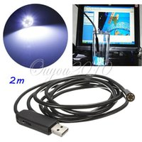 Wholesale Hot Sale M LED MM USB Waterproof Borescope Endoscope Inspection Snake Pixels CMOS Tube Camera