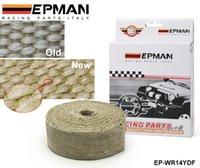 Wholesale Tansky EPMAN quot X10meter Thermal Wrap exhaust insulating warp header warp exhaust pipe warp EP WR14YDF