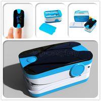 Wholesale 50PCS Best Sale Health Care CE FDA LED Display Finger Pulse Oximeter Blood Oxygen SPO2 PR Saturation Oximetro Monitor AAA