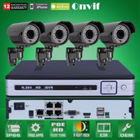 arrayed box - 4CH POE NVR CCTV System TB HDD Onvif P HD H Varifocal mm mm Array IR IP Camera POE Security Surveillance Kit