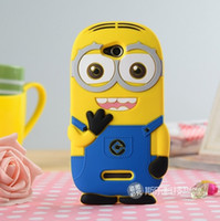 Leather cover For Sony Xperia Z2 - 3D Despicable Me Minions Soft Silicon case cover FOR SONY Xperia C S39H Xperia Z l36h Xperia Z1 L39H Xperia Z2 Xperia Z3 Xperia Z4 pc