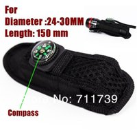 Wholesale 10pc Alonefire BT01 Portable B B etc universal flashlight Holster Pouch For Flashlight Torch compass Can OEM