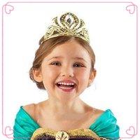 Cheap Wigs Accessories frozen Best Gold Headbands tiara crown