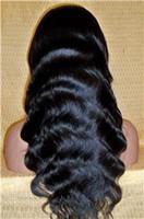 glueless lace wigs - Cheap A Grade Virgin Brazilian Body Wave Human Hair Full Lace Wigs Glueless Lace Front Human Hair Wigs inches Virgin Hair Wigs