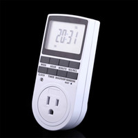 Wholesale Digital US Plug in Day h LCD Programmable Timer Switch Socket V AC A