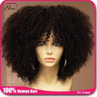 cheap full lace wigs - 7A Cheap Kinky Curly Full Lace Wig Brazilian Glueless Full Lace Human Hair Wigs Afro Curly Lace Front Wig For Black Women Stock