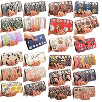 Wholesale colors rivca fit mm button fashion butterfly owl wallet snap button lady Vintage Wallets national wallet