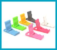 beautiful phones - Beautiful seven colors like rainbow Hot sales Universal folded Mini Cell Phone Bracket Movie Stand For iPod iPhone