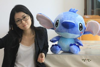Wholesale 40CM New Arrival Cute Frozen Cartoon Lilo and Stitch Plush Toy Doll Stuffed Toys Dolls Factory Price