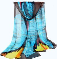 Wholesale Factory sale rayon silk spring summer Scarf Women Fashionl mixed color