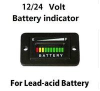Wholesale 12V V V V LED digital battery tester meter battery indicator JSK9232
