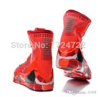 Wholesale Mens Basketball Shoes High Ankle IX ELITE Basketball Trainers Colors US Size