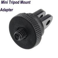 Wholesale 2014 New Arrival Mini Tripod Mount Adapter Monopod for Gopro Hero Camera ST